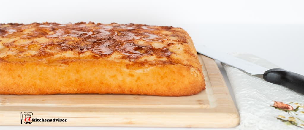 How To Make Easy Upside Down Apple Cake