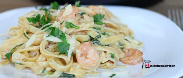 Shrimp Alfredo Pasta Instant Pot Recipes