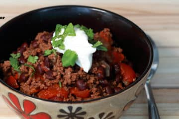 Ground Beef Chili Recipe | Instant Pot Recipes