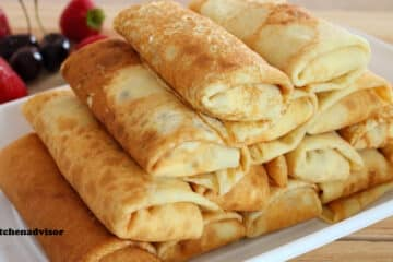 Cottage Cheese Crepes Ukrainian