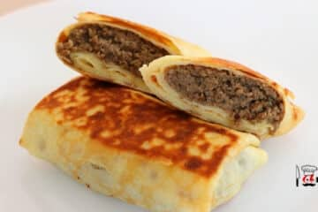 Meat Filled Crepes