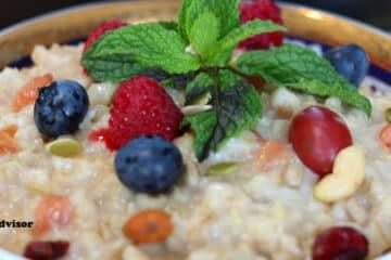 Oatmeal Porridge Instant Pot Recipe